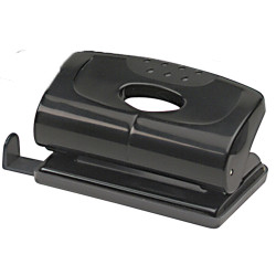 MARBIG 2 HOLE PUNCH Small 12Sht Cap Black