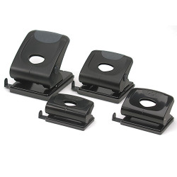 MARBIG 2 HOLE PUNCH H/Duty 28Sht Cap Black