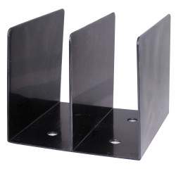 SWS BOOK RACK Black