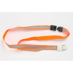 REXEL REFLECTIVE LANYARD Hi-Vis Orange Pack Of 5