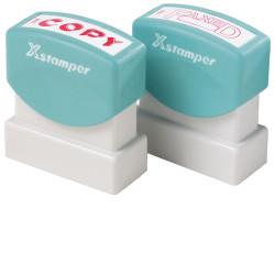 XSTAMPER -1 COLOUR -TITLES A-C 1138 Clients Copy Blue