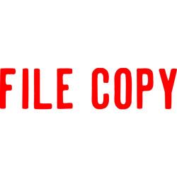 XSTAMPER -1 COLOUR -TITLES D-F 1071 File Copy Red