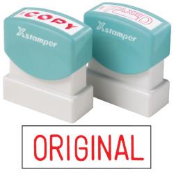 XSTAMPER -1 COLOUR -TITLES D-F 1111 Original Red