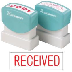 XSTAMPER -1 COLOUR -TITLES R-Z 1116 Received Red