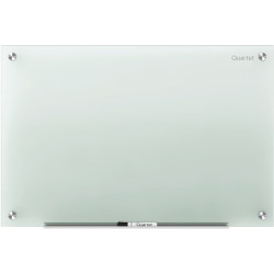 QUARTET INFINITY GLASS BOARD 1200x915mm Frosted Office Series
