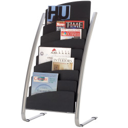 ALBA BROCHURE FLOOR STAND 8 Tier Double