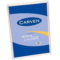 CARVEN CERTIFICATE FRAME A4 Desk/Wall Mountable Slvr
