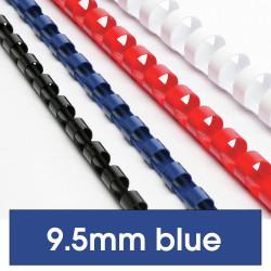 REXEL BINDING COMB 10mm 21Loop 65Sht Cap Blue