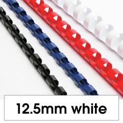 REXEL BINDING COMB 12mm 21Loop 95Sht Cap White