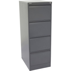 GO 4 DRAWER FILING CABINET H1321xw460xd620mm Graph Ripple Furnx