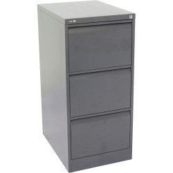 GO 3 DRAWER FILING CABINET H1016xw460xd620mm Graph Ripple Furnx