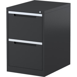 STEELCO FILING CABINET 2 Drawer Graphite Ripple