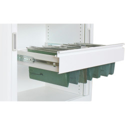 STEELCO FILE FRAME Pull Out W900 White Satin