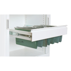 STEELCO FILE FRAME Pull Out W1200 White Satin
