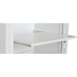 STEELCO TAMBOUR DOOR CUPBOARD Wire Rack - Clip Under Shelf W900