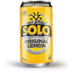 SOLO LEMON CANS 375ml Pack 24