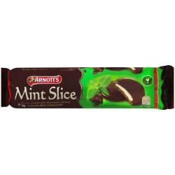 ARNOTTS BISCUITS 200gm Choc mint Slice