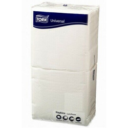 COST SAVER LUNCH SERVIETTES 1 Ply 320x315mm White