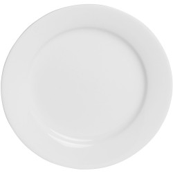 CONNOISSEUR TABLEWARE A La Carte Plate 185mm White