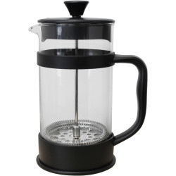 COMPASS IMPRESS COFFEE PLUNGER 8 Cup 1 Ltr Black