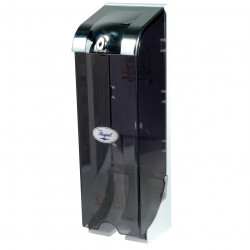 REGAL TOILET ROLL DISPENSER 3 Roll Cap. Lockable