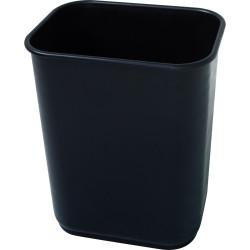 JASTEK WASTE PAPER BIN 39 litre Black