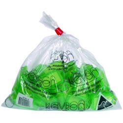 KEVRON KEY TAGS ID5 GREEN Pack of 50 56 x 30mm