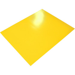 RAINBOW POSTER BOARD Double Sided 510x640mm Yellow