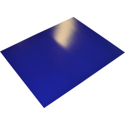 RAINBOW POSTER BOARD Double Sided 510x640mm Blue