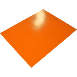 RAINBOW POSTER BOARD Double Sided 510x 640mm Orange