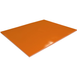 RAINBOW SURFACE BOARD Double Sided Orange