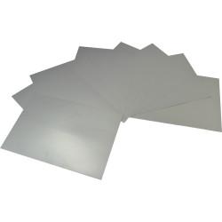 RAINBOW SURFACE BOARD Single Sided Metallic Silver