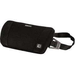 FELLOWES BACK SUPPORT Plush Touch Black