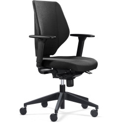 FELIX SYNCHROM TASK CHAIR Black With Arms
