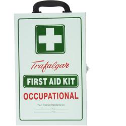 TRAFALGAR FIRST AID CABINET TFA First Aid Cabinet Metal 1F