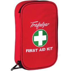 TRAFALGAR VEHICLE F/A KIT Low Risk Kit Soft Case Red