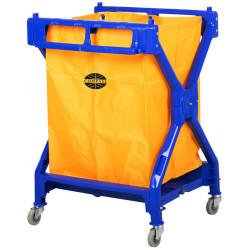 Compass Scissor Cart  with Yellow Bag
