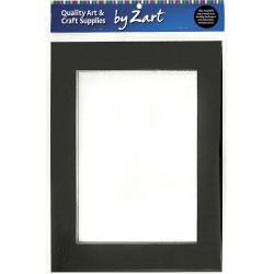 Zart Double Sided Art Mounts A3 Pack of 10 Pack of 10