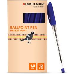 BIBBULMUN BALLPOINT PEN MEDIUM Blue BX12