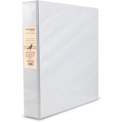 BIBBULMUN A4 INSERT BINDER 2D 25mm White