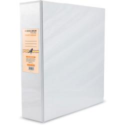 BIBBULMUN A4 INSERT BINDER 3D 50mm White