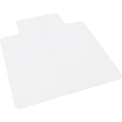 RAPIDLINE HARD FLOOR SURFACES Commercial Chair Mat Clear Large Smooth 1350MM X 1140MM