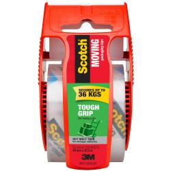 SCOTCH 150-AU PACKAGING TAPE Tough Grip Moving Tape Clear Hot melt 48mm X 20.3m