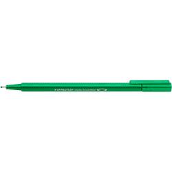 STAEDTLER TRIPLUS® BROADLINER Pen Green Box of 10