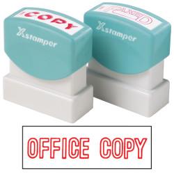 XSTAMPER -1 COLOUR -TITLES D-F 1064 Office Copy Red