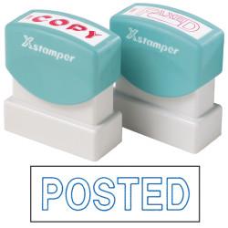 XSTAMPER -1 COLOUR -TITLES P-Q 1535 Posted Blue