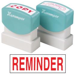 XSTAMPER -1 COLOUR -TITLES R-Z 1565 Reminder Red