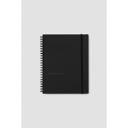 WHITELINES SPIRAL NOTEBOOK A5 Hardcover 160P 7mm 100gsm