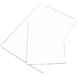 OFFICE PADS BANK A4 297x210mm Plain White