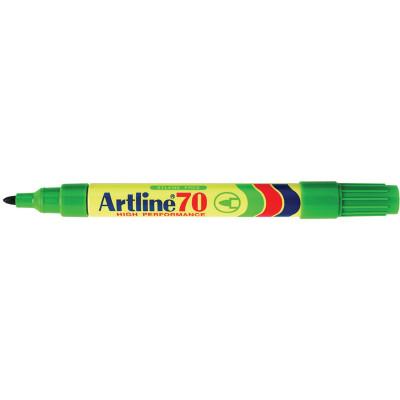 ARTLINE 70 PERMANENT MARKERS Med Bullet Green